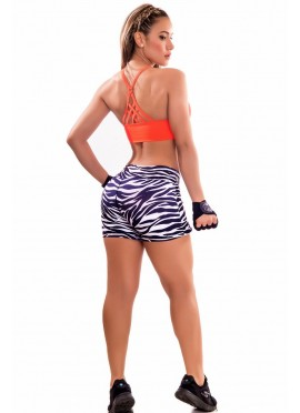 Falda short deportiva/ ORANGE FIT