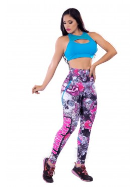 Leggins Deportivo Skull Girls