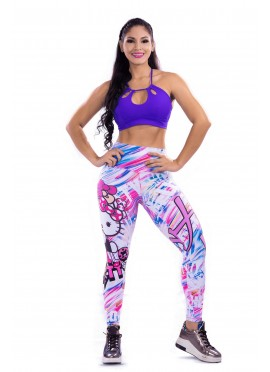 Leggins Deportivo Hello Kitty Fit
