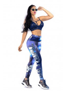 Leggins Deportivo Batman Fitness