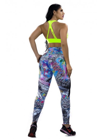 Leggins Deportivo Jungle Fit - Ref. L-4205