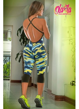 Enterizo deportivo/ Ref. 090 / MILITARY FITNESS
